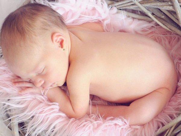 Pendientes para recien nacidos